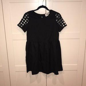 Never worn SABO Skirt black babydoll dress